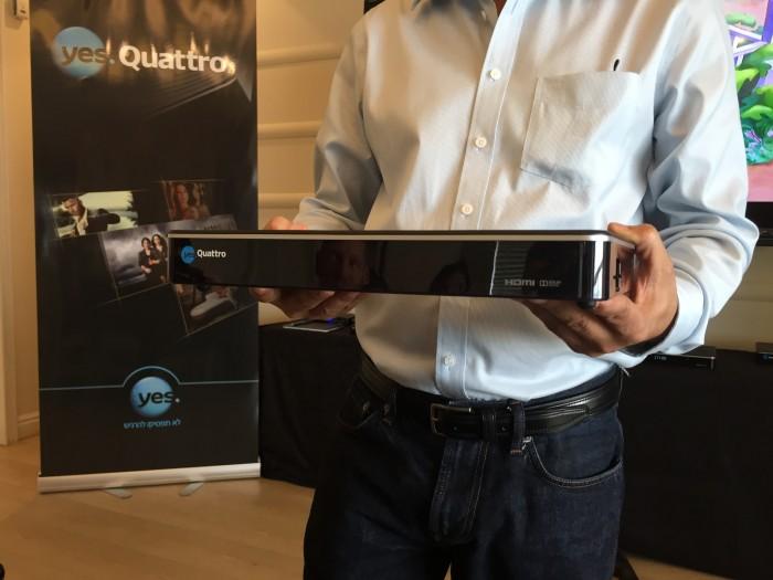 חברת yes משיקה את yes Quattro – ממיר מקליט המסוגל להקליט עד 6 ערוצים במקביל